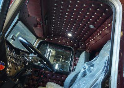 Diamond Tuck Cab Interior
