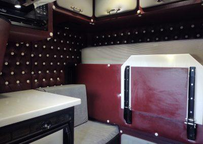Diamond Tuck Sleeper Interior